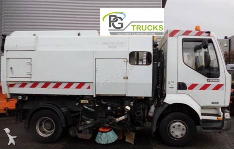 camion balayeuse scarab major major 5001 gazoil occasion n 705340. Black Bedroom Furniture Sets. Home Design Ideas