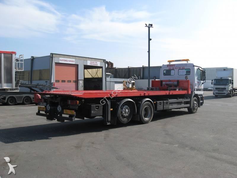 camion porte engins occasion mercedes actros 2531 gazoil annonce n 713286. Black Bedroom Furniture Sets. Home Design Ideas