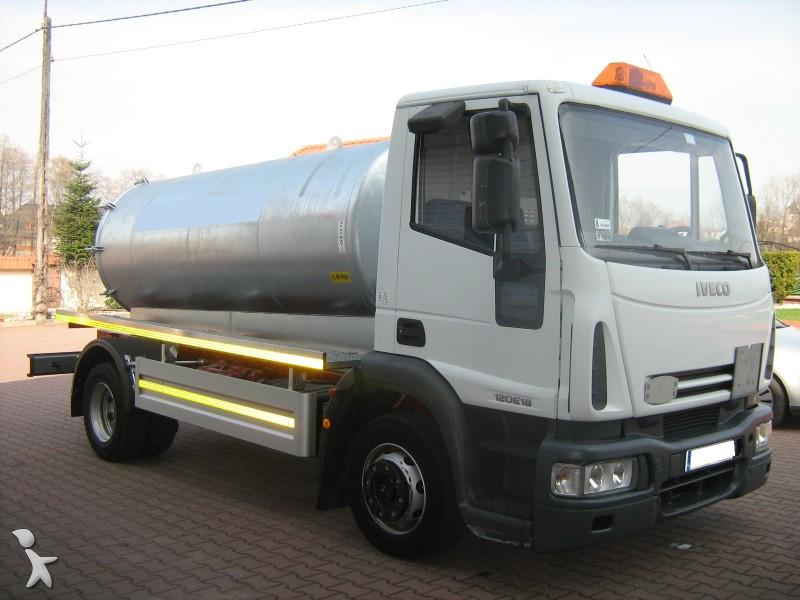 camion hydrocureur occasion iveco eurocargo 120e18 gazoil annonce n 732527. Black Bedroom Furniture Sets. Home Design Ideas