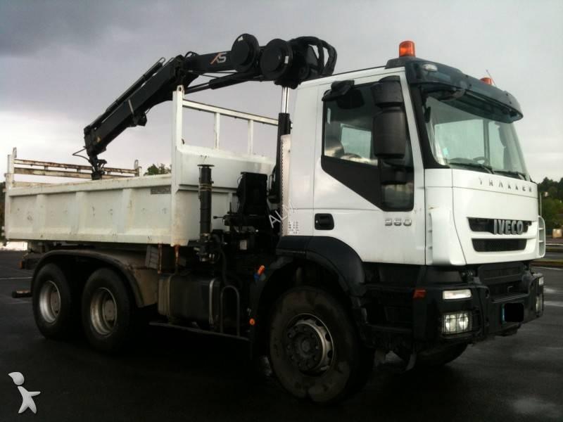 camion bi benne occasion iveco trakker ad 260 t 36 gazoil annonce n 755857. Black Bedroom Furniture Sets. Home Design Ideas