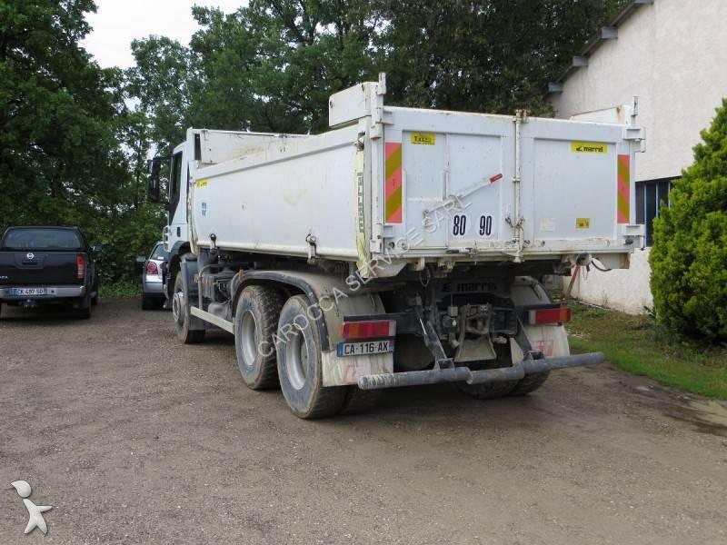 camion iveco bi benne marrel trakker ad 260 t 41 6x4 gazoil euro 4 occasionmasculinsingulier n. Black Bedroom Furniture Sets. Home Design Ideas