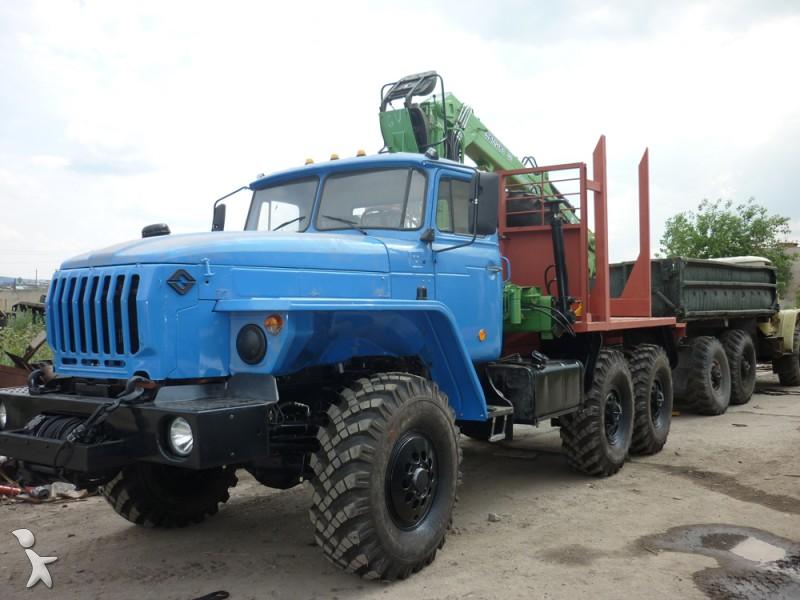 camion ural ch u00e2ssis 4320 6x6 gazoil euro 2 occasion
