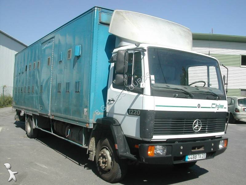 camion mercedes fourgon cityliner 1320 4x2 hayon occasion. Black Bedroom Furniture Sets. Home Design Ideas