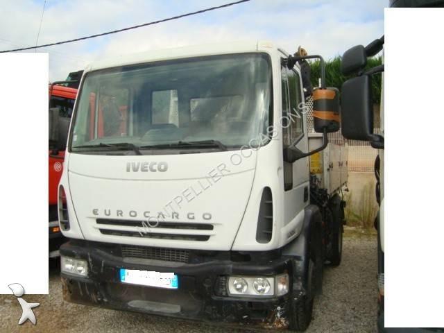 camion iveco benne eurocargo 140e24 occasion n 856153. Black Bedroom Furniture Sets. Home Design Ideas