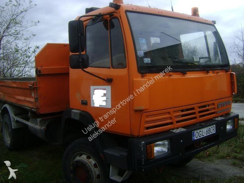 camion steyr benne 16s18 4x4 occasion n 891480. Black Bedroom Furniture Sets. Home Design Ideas