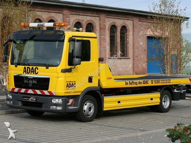 new man tgl tow truck 8180 abschleppwagen stock jan 2014. Black Bedroom Furniture Sets. Home Design Ideas