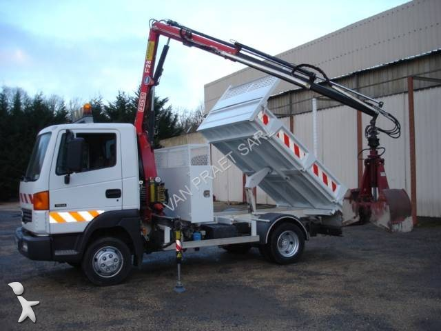 camion nissan tri benne atleon 4x2 gazoil euro 5 occasion n 923562. Black Bedroom Furniture Sets. Home Design Ideas