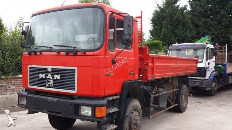 camion man benne 4x4 euro 0 occasion n 960865. Black Bedroom Furniture Sets. Home Design Ideas