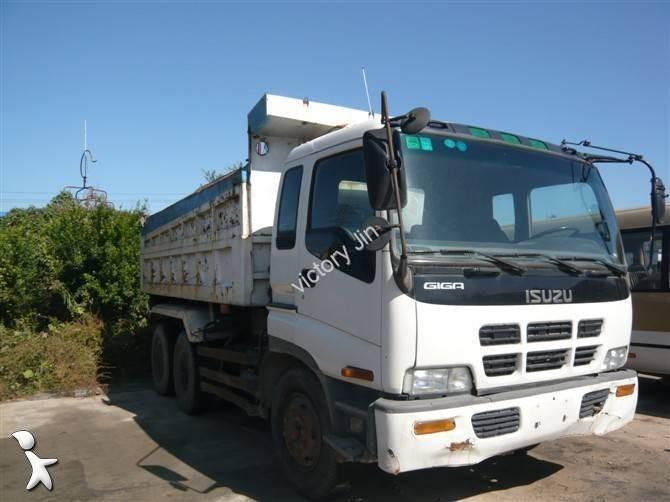 camion isuzu halfpipe tipper euro 6 usato n 979608. Black Bedroom Furniture Sets. Home Design Ideas