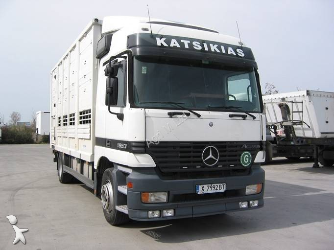 camion b taill re occasion mercedes actros 1853 gazoil annonce n 981215. Black Bedroom Furniture Sets. Home Design Ideas