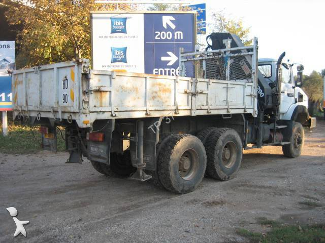 camion renault benne cbh 350 6x6 gazoil euro 6 occasion