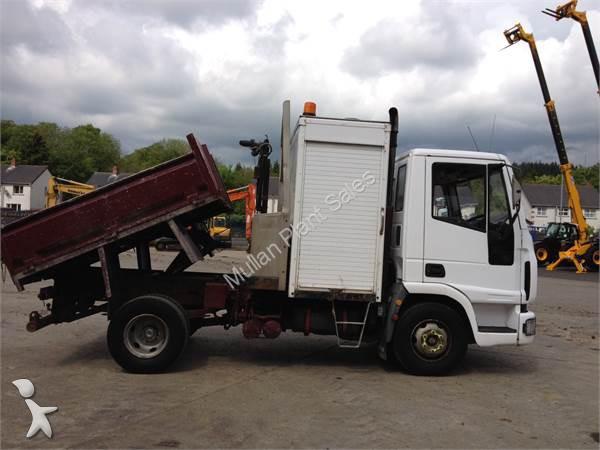 camion iveco ribaltabile eurocargo 7 5 ton tipper usato n 1180045. Black Bedroom Furniture Sets. Home Design Ideas