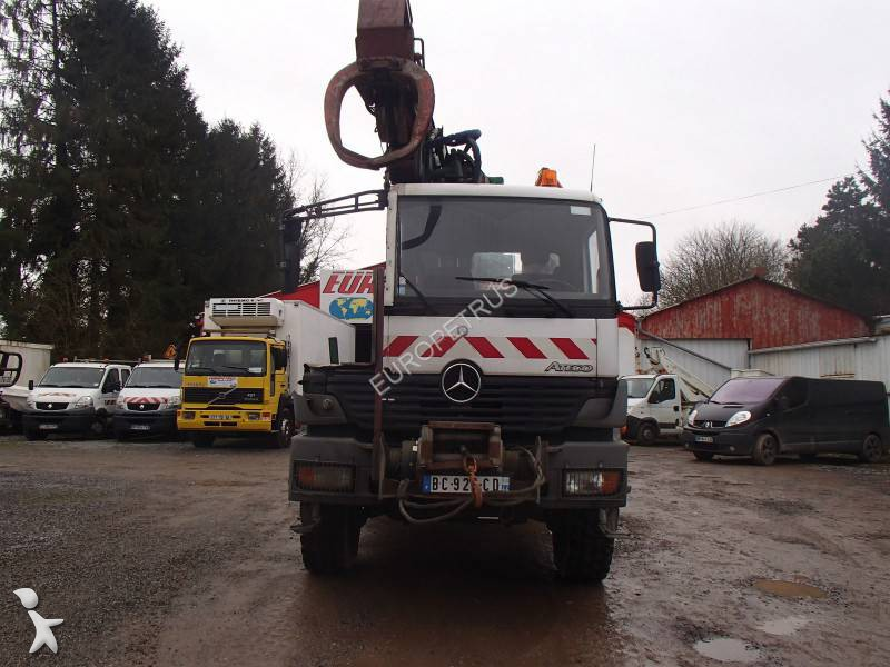 camion mercedes plateau atego 1828 4x4 gazoil euro 3