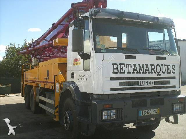 camion iveco pompe b ton eurotrakker 6x4 gazoil euro 2. Black Bedroom Furniture Sets. Home Design Ideas
