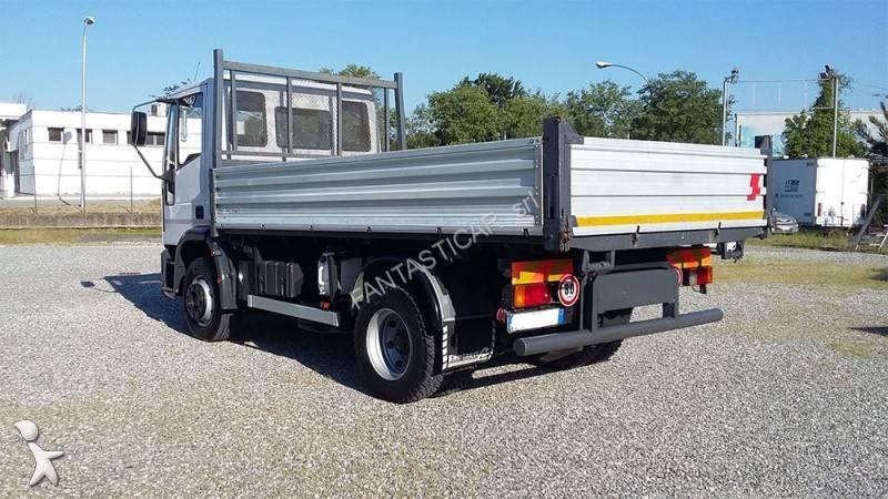 camion benne occasion iveco eurocargo 120e15 annonce n 1660732. Black Bedroom Furniture Sets. Home Design Ideas