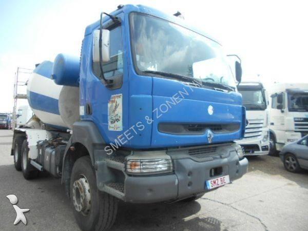 camion renault b ton toupie malaxeur kerax 400 6x4 gazoil euro 2 occasion n 1737406. Black Bedroom Furniture Sets. Home Design Ideas