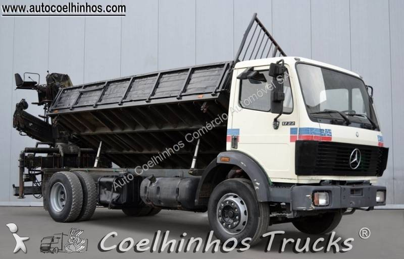 camion mercedes benne sk 1722 4x2 gazoil euro 0 grue occasion n 1763237. Black Bedroom Furniture Sets. Home Design Ideas