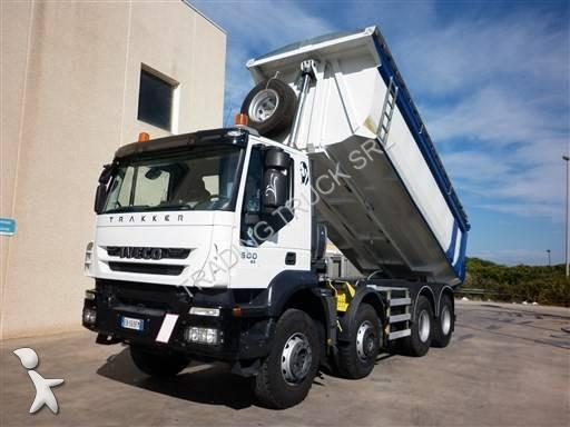 camion iveco benne trakker 410 t 50 euro 5 occasion n. Black Bedroom Furniture Sets. Home Design Ideas