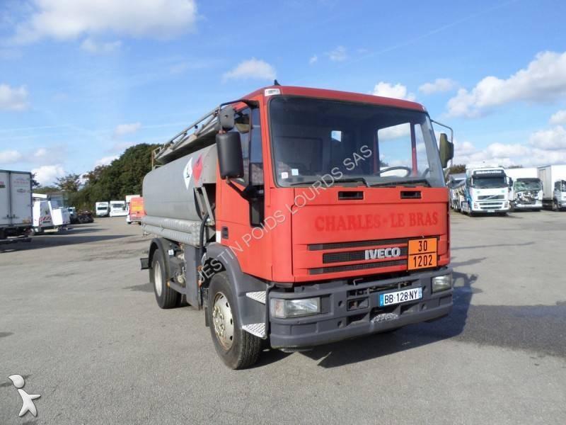 camion citerne hydrocarbures occasion iveco eurocargo 130e18 gazoil annonce n 1780123. Black Bedroom Furniture Sets. Home Design Ideas