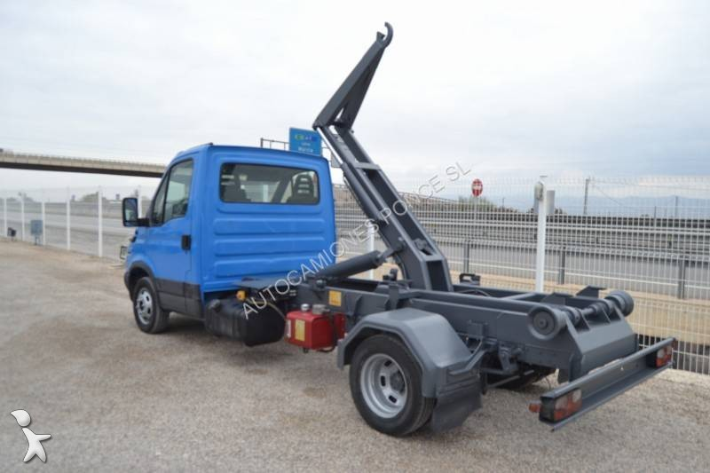 used iveco daily container truck 50c12 4x2 diesel euro 3 n 1786545. Black Bedroom Furniture Sets. Home Design Ideas