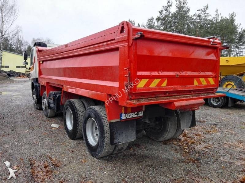 camion daf benne cf85 410 8x4 euro 4 occasion
