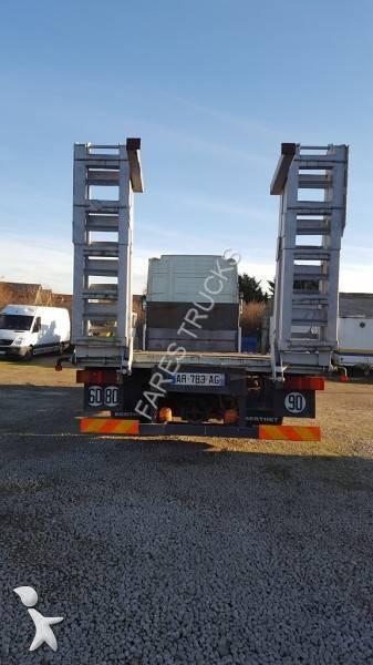 camion renault porte engins magnum ae 420 ti 6x2 gazoil