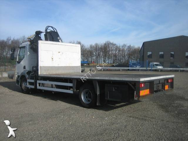 camion daf plateau standard lf55 180 4x2 euro 4 grue
