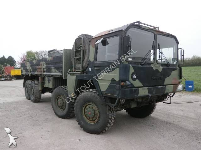 camion man militaire kat1 8x8 gazoil occasion n 1990500. Black Bedroom Furniture Sets. Home Design Ideas