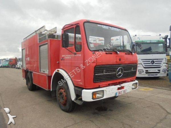 camion pompiers occasion mercedes nc gazoil annonce n 2037473. Black Bedroom Furniture Sets. Home Design Ideas