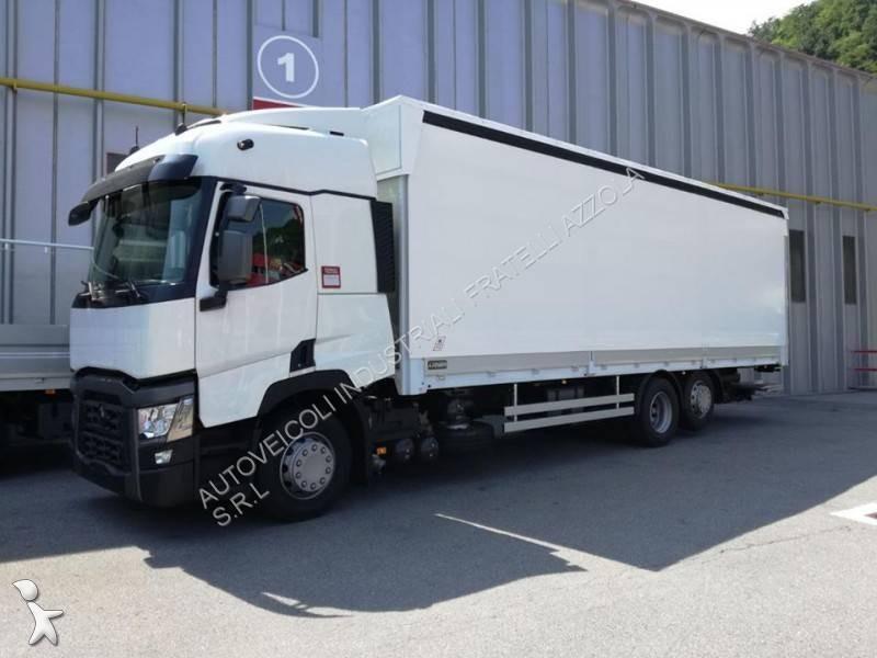 camion renault savoyarde gamme t 460 6x2 gazoil euro 6