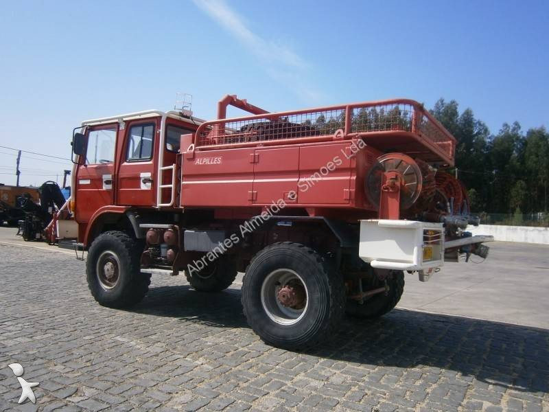 used renault 85 150 ti wildland fire engine truck 4x4 euro 1 n 2060860. Black Bedroom Furniture Sets. Home Design Ideas