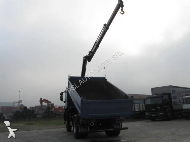 camion iveco tri benne trakker ad 190 t 31 w euro 5. Black Bedroom Furniture Sets. Home Design Ideas