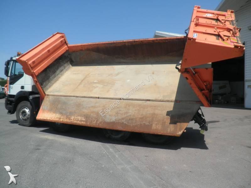 camion iveco bi benne forez bennes trakker ad 410 t 50 8x4. Black Bedroom Furniture Sets. Home Design Ideas