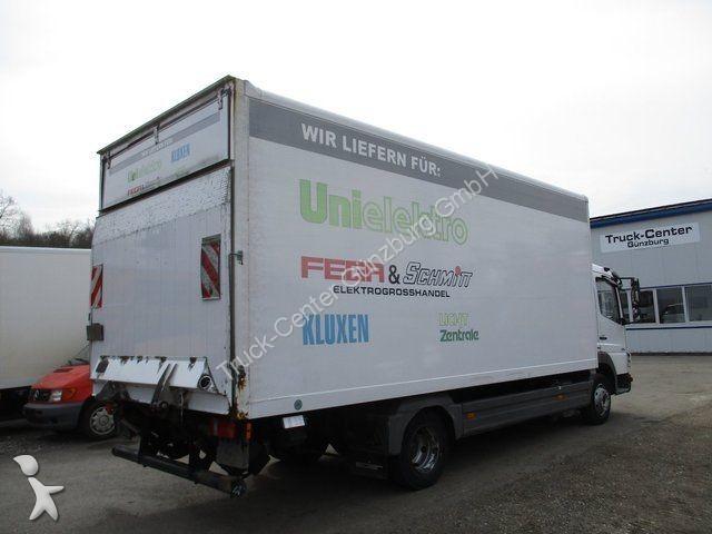 gebrauchter mercedes kastenwagen atego 816 6 1 m koffer lbw 3 sitzer euro 5 diesel euro 5 n. Black Bedroom Furniture Sets. Home Design Ideas