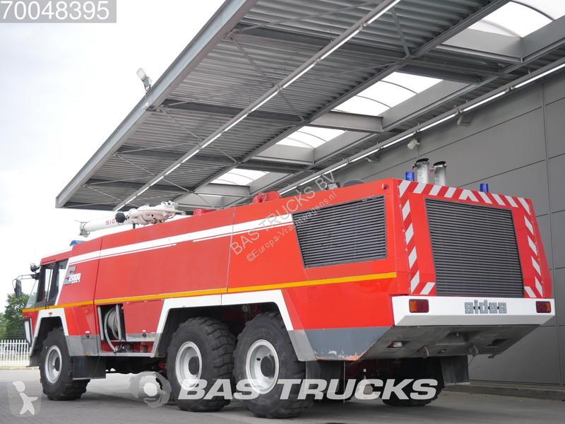 used mercedes fire truck crashtender sides airport fire truck 6x6 diesel n 2178483. Black Bedroom Furniture Sets. Home Design Ideas