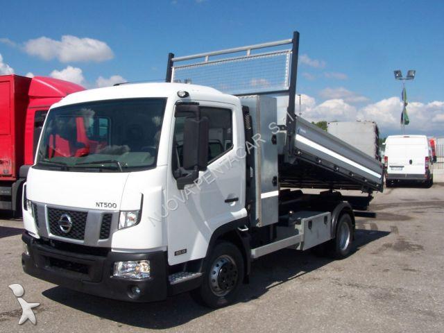 camion nissan ribaltabile nt500 65 usato n 2262828. Black Bedroom Furniture Sets. Home Design Ideas