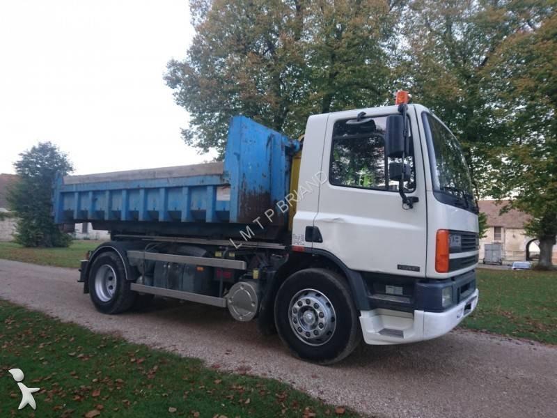 camion daf polybenne marrel cf65 220 4x2 gazoil euro 3