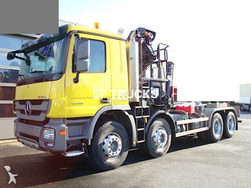 camion mercedes polybenne actros 4148 8x4 gazoil euro 5. Black Bedroom Furniture Sets. Home Design Ideas