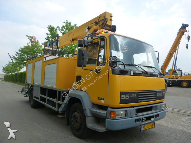 camion daf nacelle 55 180 gazoil euro 2 occasion n 2441937. Black Bedroom Furniture Sets. Home Design Ideas