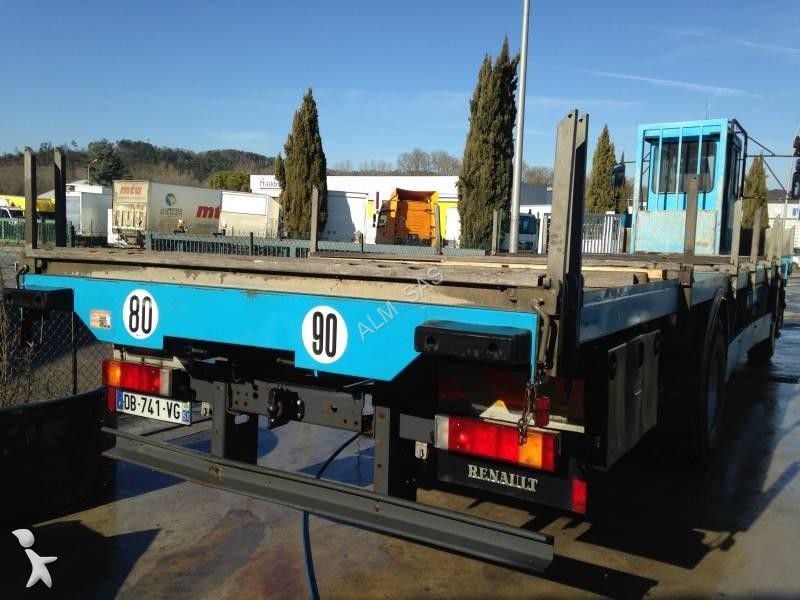 camion renault plateau porte fer premium 270 dci 4x2 euro