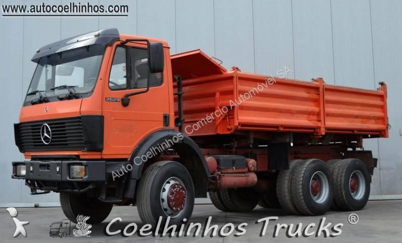 camion mercedes benne sk 2629 6x6 gazoil occasion n 2509560. Black Bedroom Furniture Sets. Home Design Ideas