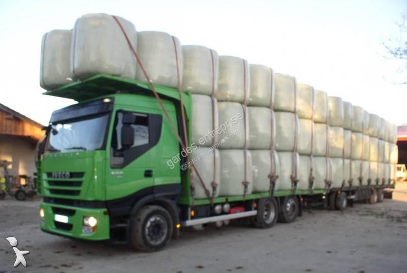 Wspaniały Ciężarówka Iveco platforma do transportu słomy Stralis AS 260 S 50 AJ23
