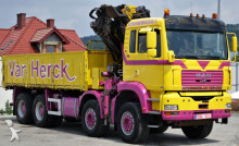 View images MAN TGA 35.430 Kipper 5,80m + Kran /8x4! truck