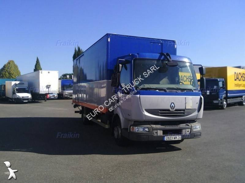 camion renault fourgon midlum 160 10 euro 4 hayon occasion