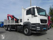 Voir les photos Camion MAN TG-S 28.360 6x2-2 BL Pritsche Heckkran 3xhydr+Fu