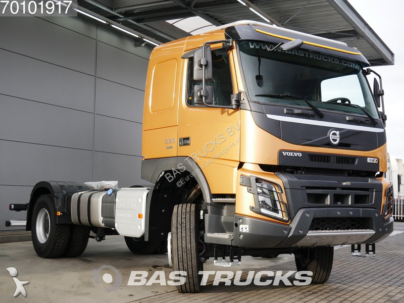 new volvo fmx chassis truck 330 4x4 diesel euro 6 n 2980680. Black Bedroom Furniture Sets. Home Design Ideas