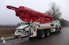 camion Mercedes pompe à béton 4140 8x4 Putzmeister 47-5 M occasion - n°2989035 - Photo 3