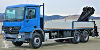 Voir les photos Camion Mercedes Actros 2632 Pritsche 7,00m+ Kran*Topzustand!