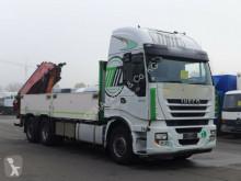 Voir les photos Camion Iveco Stralis 500*Eur5*Retarder*AHK*Lenkachs*Kran*6x2