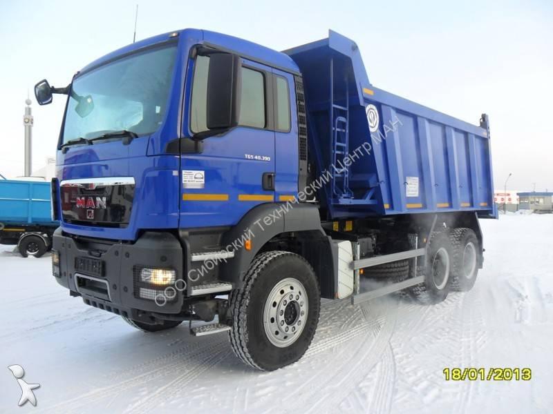 new man tgs tipper truck meiller 6x4 diesel euro 3 n 726769. Black Bedroom Furniture Sets. Home Design Ideas